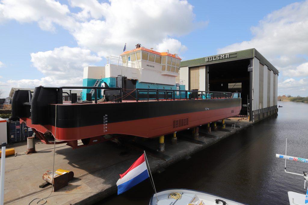 Schip de Coastal Crown voor Acta Marine