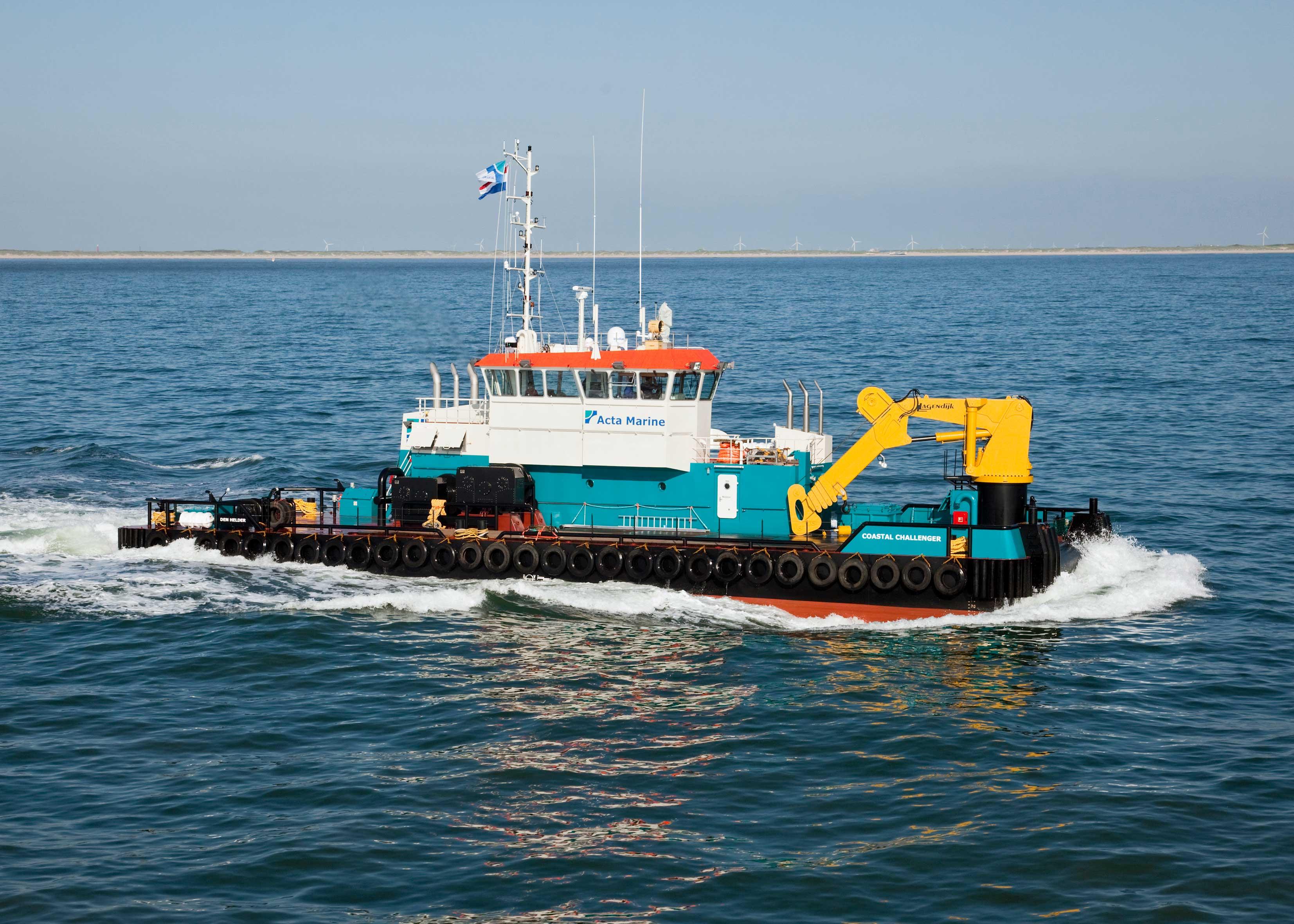 Vessel Coastal Challenger for Acta Marine