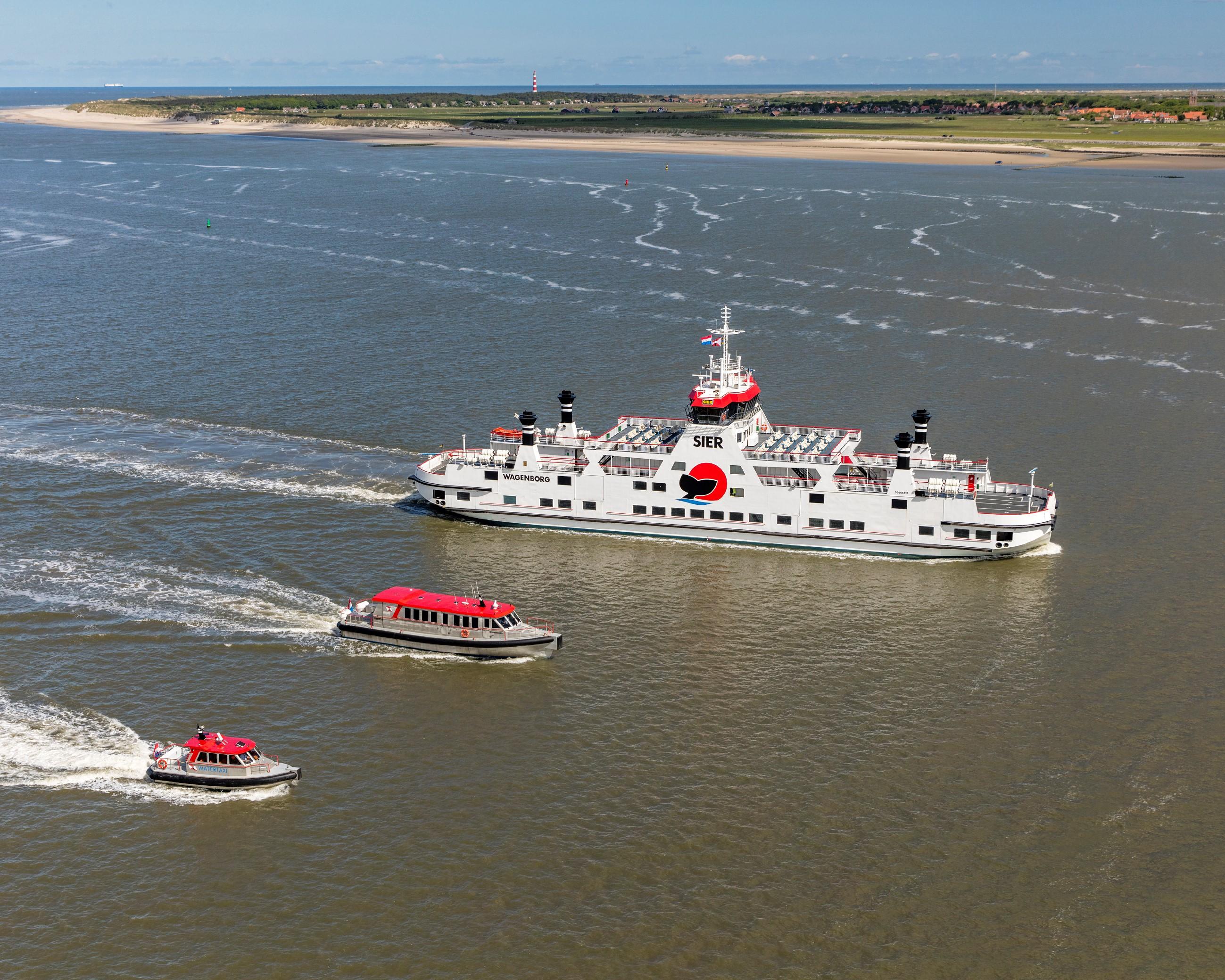 Veerboot de Sier naar Ameland